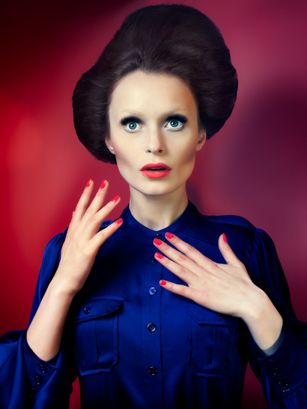 Albe in Reel Sexy for MAC Cosmetics. Photographed by Atif Abu-Samra. Hia Magazine.