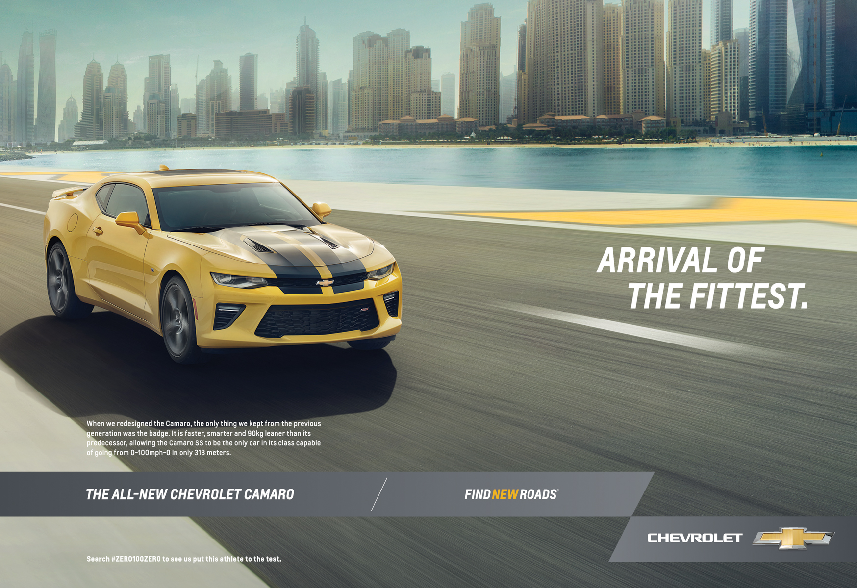 Chevrolet Camaro | Arrival of the Fittest