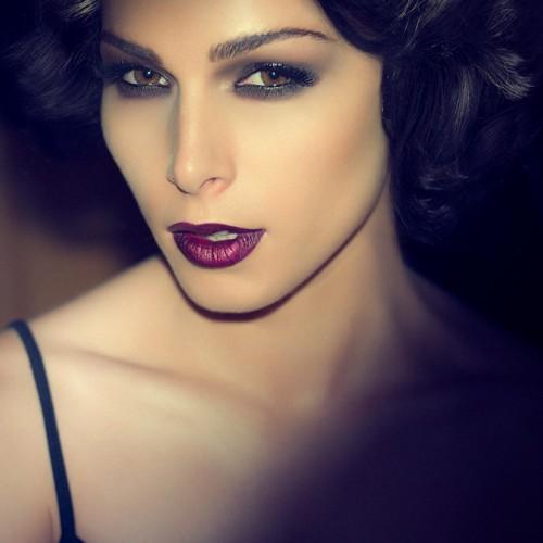 Beauty photography with Ranka Jakovljevic - a beautiful photography portrait of a model in Dubai.