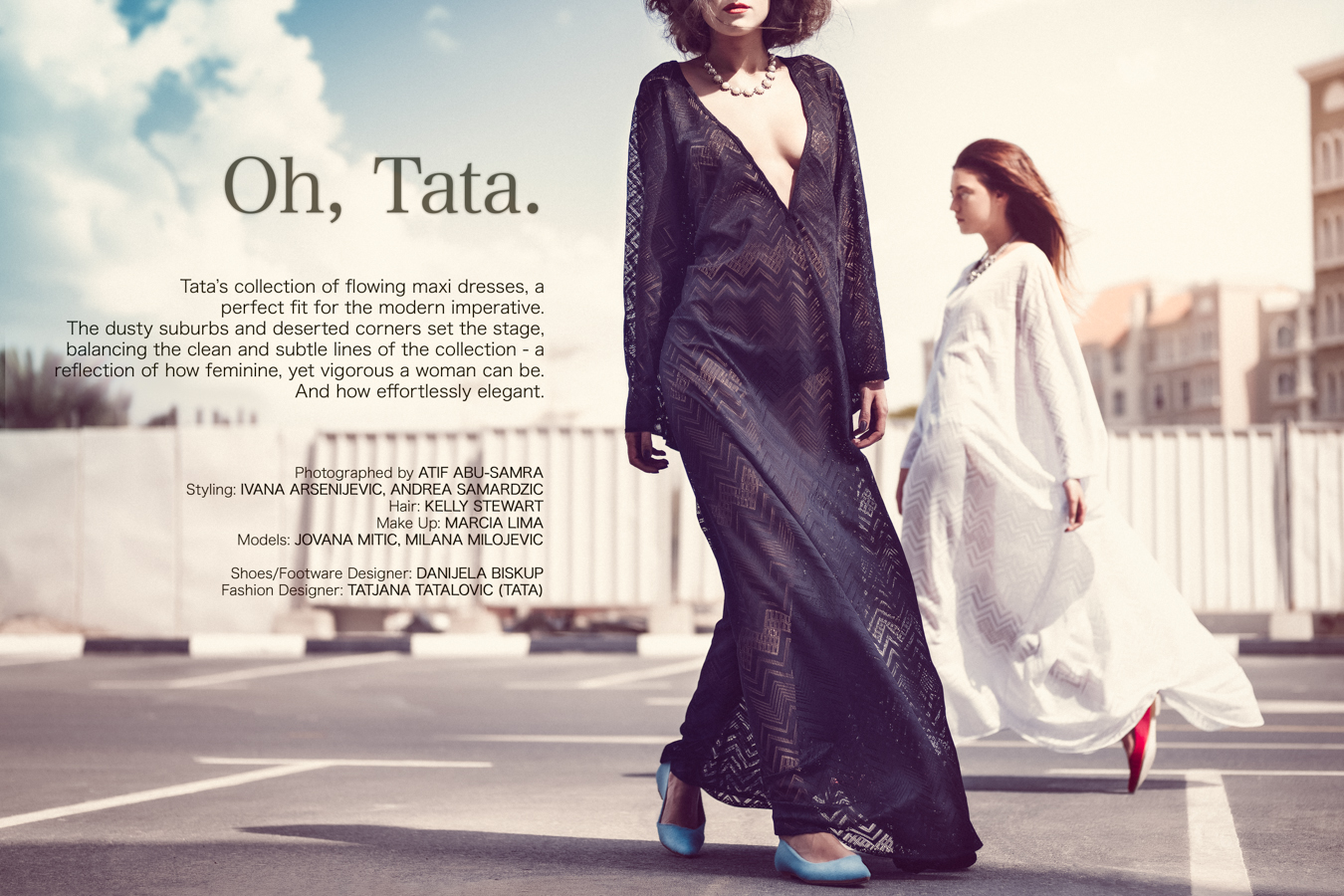 TaTa SS14 | Fashion Editorial